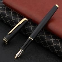 hero 5020 Matte black pen OFFICE standard With Golden Trim M gift Fountain Pen