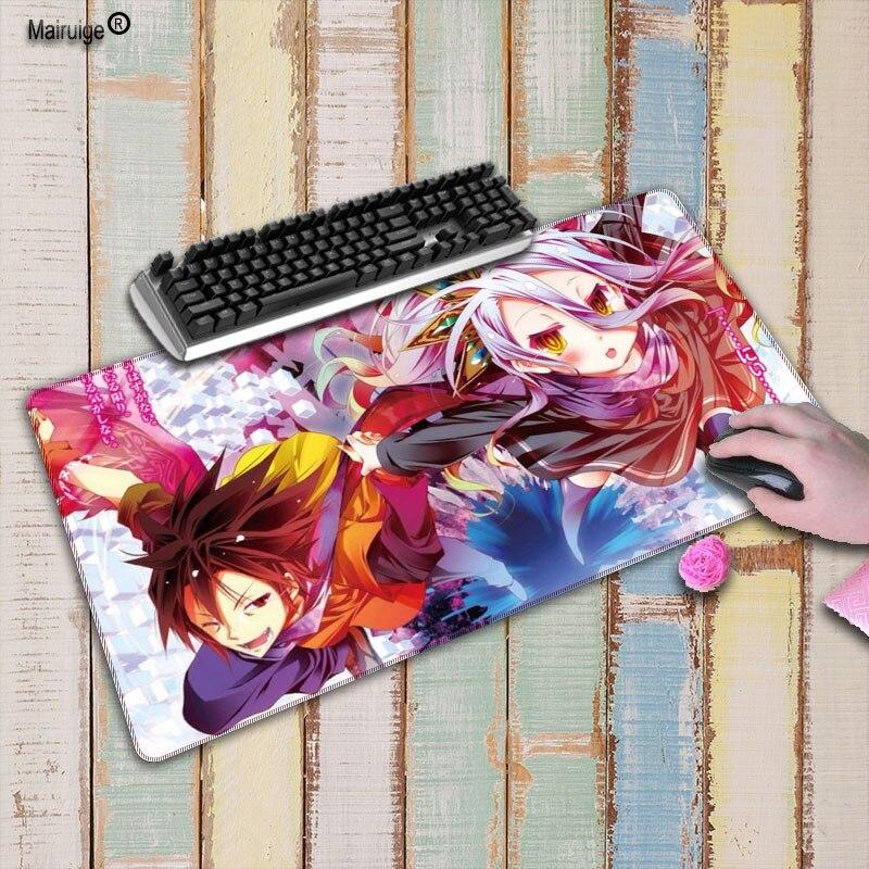 Mairuige pas de jeu pas de vitesse de vie grand grand jeu verrouillage bord Mousepad claviers tapis ordinateur tablette tapis de souris bureau & jeu