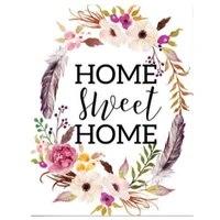 5d bricolage diamant broderie maison douce maison fleur diamant peinture point de croix mosaique carre rond strass decoration maison