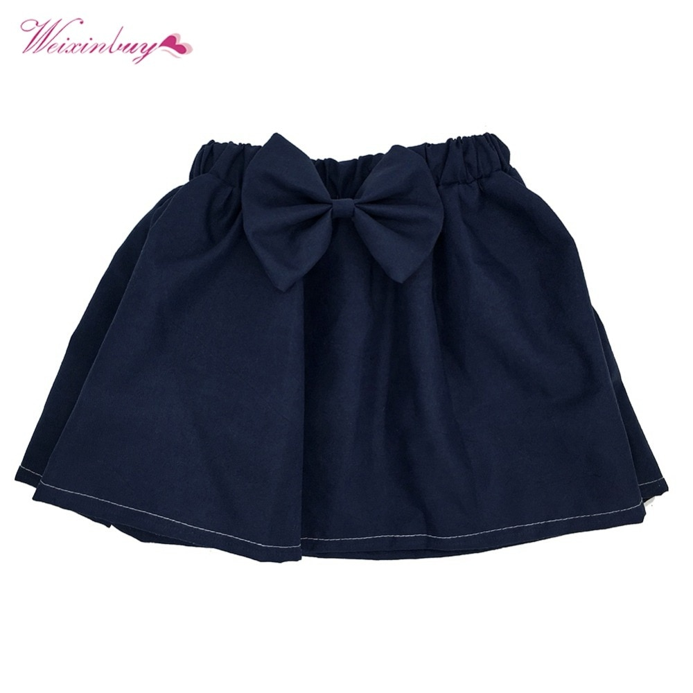 Girls Skirt Baby Kids Girls Mini Bubble Tutu Skirts Pleated Dance Princess Skirts For Children Clothes