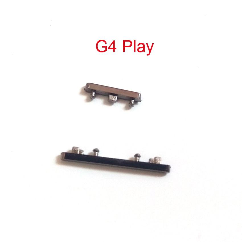 Botón en el lateral de volumen de encendido de 10 Uds para Motorola MOTO G G2 G3 G4 plus E E2 E3 X X2 X play X style G4 botón de encendido de volumen de reproducción