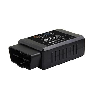 Image 3 - Автомобильный диагностический инструмент V1.5 ELM327, WIFI, OBD2, OBDII, адаптер сканера, проверьте светильник двигателя, черный