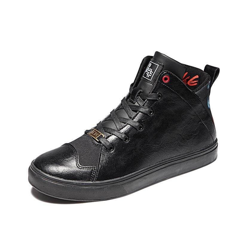 Doodle Cyprinoid Unisex lona Skateboard zapatos jóvenes hombres mujer zapatilla estudiante calle deporte caminar botas para patinaje Cool