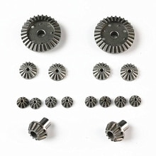 Wltoys 12428 12423 12628 RC Car Spare parts Upgrade Metal Differential Gear 12428-0011 12428-0012 12