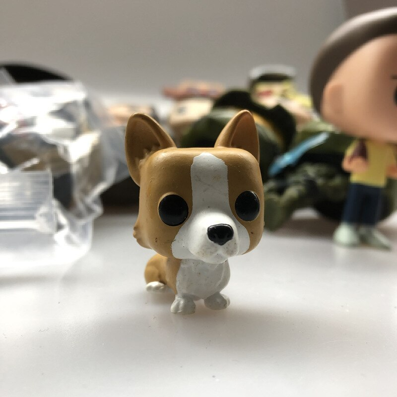 Funko Used Mystery Minis: Royals Queen Elizabeth II-собака корги Щенок Животное Виниловая фигурка Коллекционная модель игрушки без коробки
