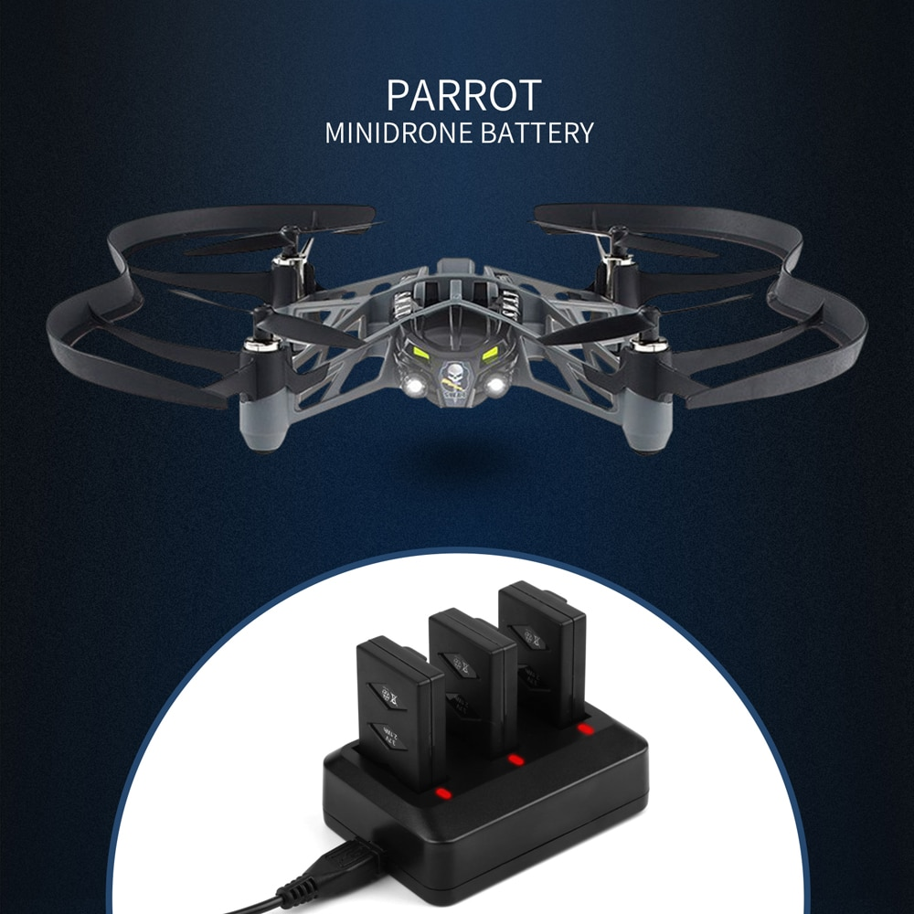 Morpilot 3-Pack 3,7 V 600mAh 20C Li-po батарея для Parrot мини Дрон для Parrot Jumping Sumo Swing Mambo Rolling Spider