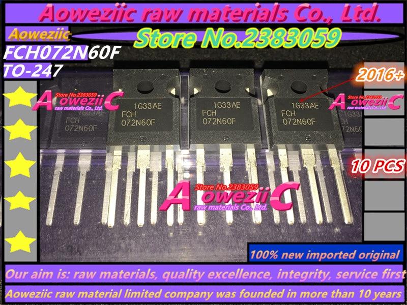 ترانزستور Aoweziic 2019 + 100, FCH072N60F 072N60F FDH27N50 FGY75N60SMD FGY75N60 TO-247 IGBT