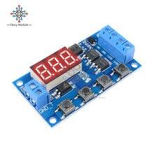 Interrupteur temporisation Circuit imprimé 12 24V   Cycle de déclenchement, interrupteur temporisé Circuit imprimé, Module de contrôle de Tube MOS