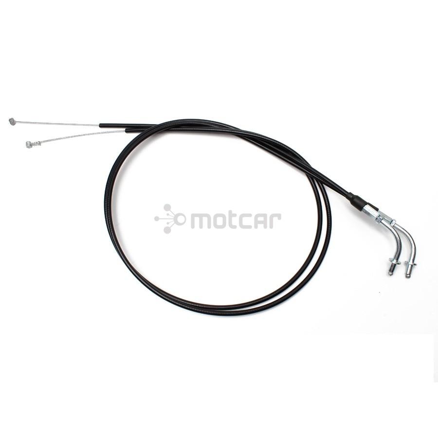 Juego de cables de aceite de acelerador negro de 51 pulgadas, Cable acelerador para Harley Sportster XL 883 1200 XL883 XL1200 2002-20146