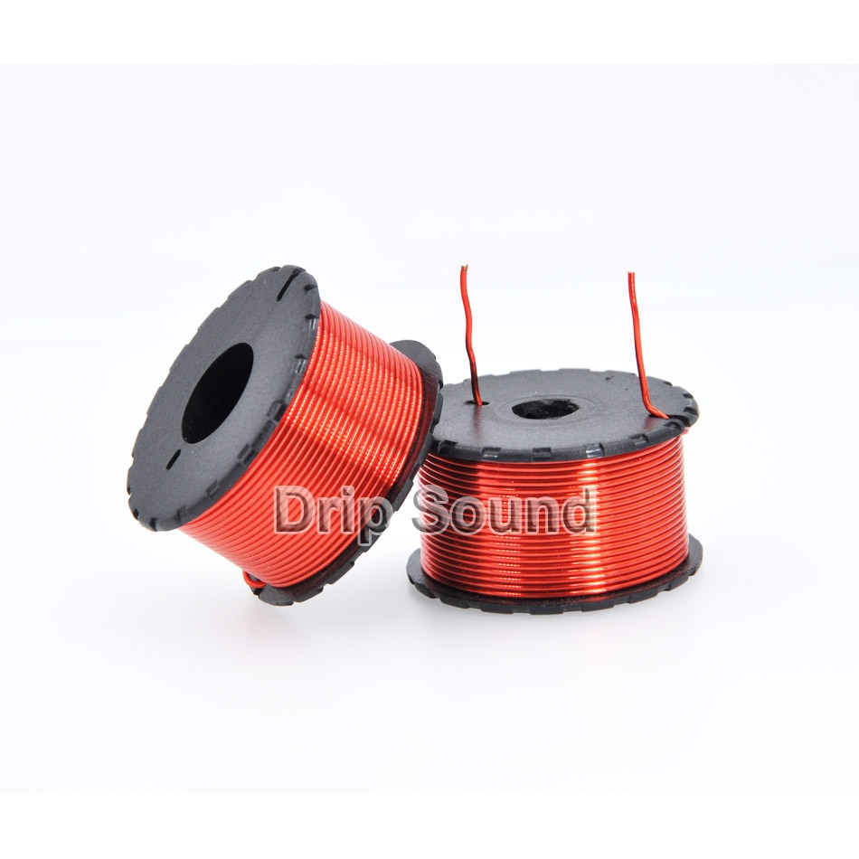 1 Uds 0,8mm 0.1mH-1.0mH altavoz amplificador de Audio Crossover Inductor 4N bobina de alambre de cobre libre de oxígeno # Red2