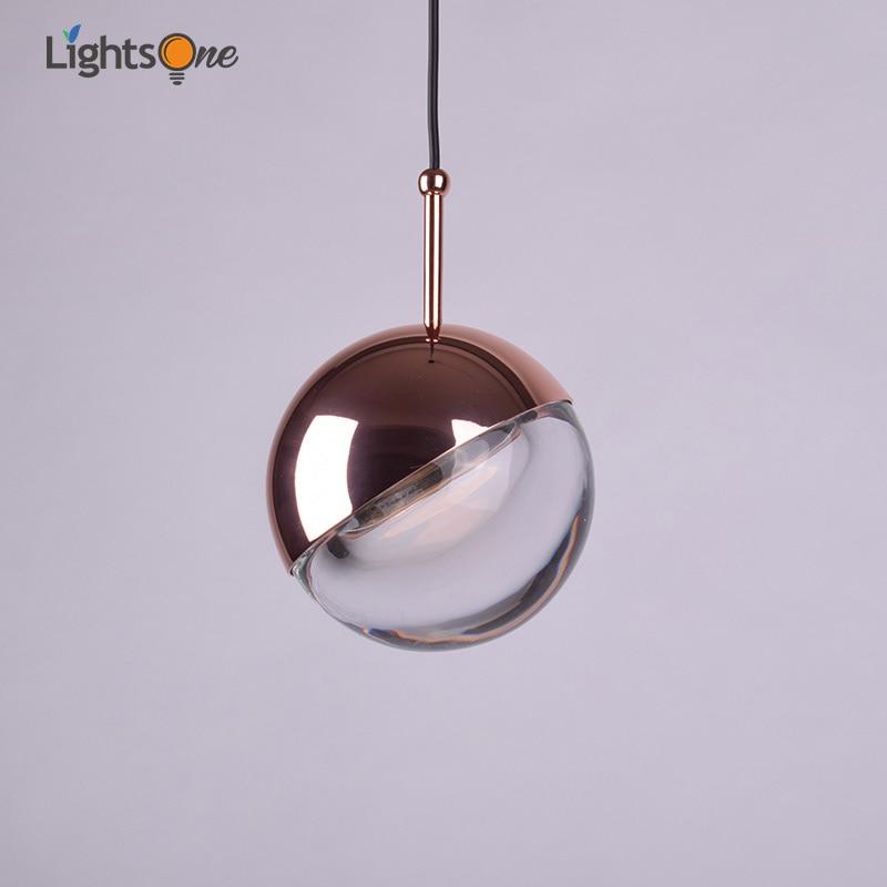 Nórdicos sola cabeza dormitorio cabecera restaurante colgante luces post bar minimalista moderno personalidad bola colgante lámpara