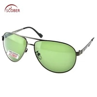 scober custom made nearsighted minus prescription large full rim driving pilot men designer polarized sunglasses 1 to 6