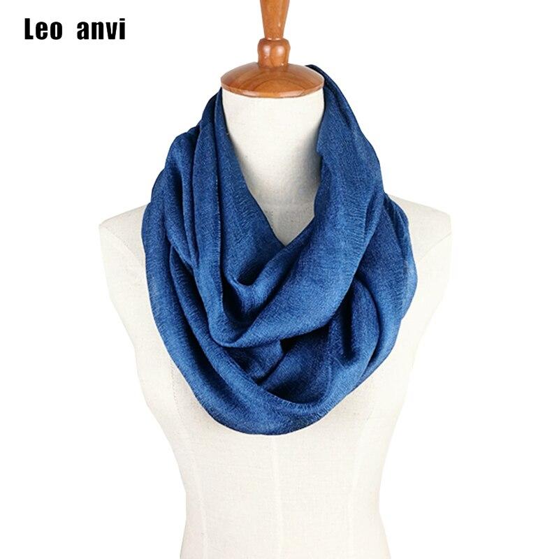 2019 chiffon silk ring scarf women Pretty solid pink gray sky blue color tube scarf foulard femme summer retro ladies scarves