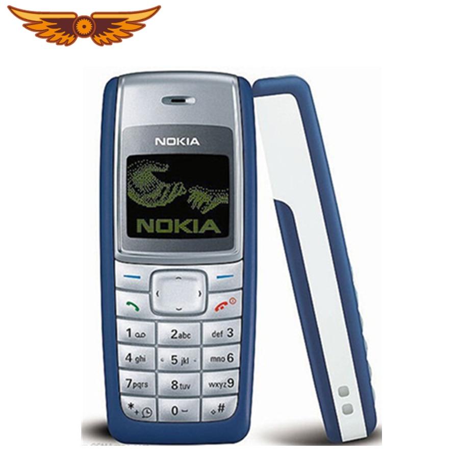 1110 günstige Original Entsperrt Nokia 1110 GSM 2G 1.8 Renoviert Alten Mobilen Klassische Telefon Freies Verschiffen