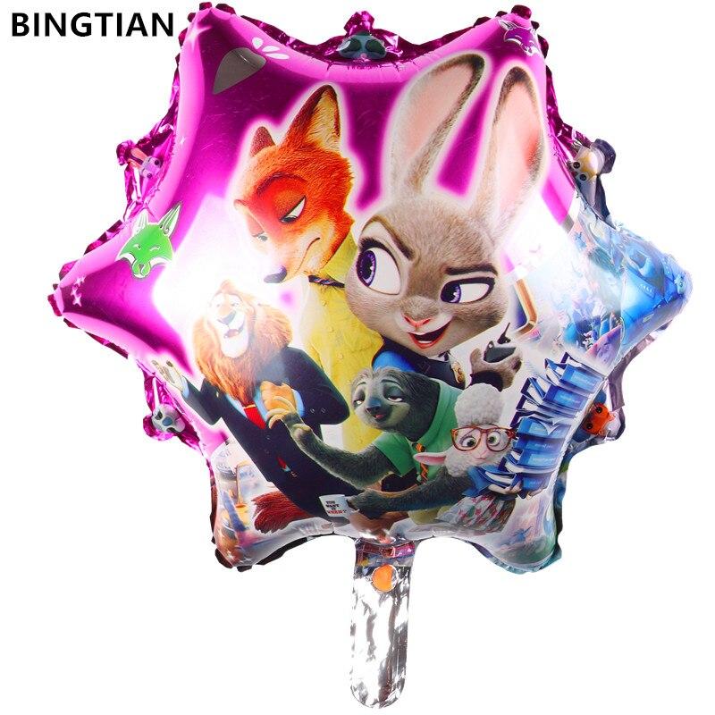 BINGTIAN new design Cartoon crazy animal City balloons inflatable toys wedding decoration wholesale