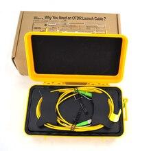 Éliminateur de Zone morte dotdr de 1km MM, boîte de câble optique de lancement dotdr de Fiber, connecteurs Multi pour choisir