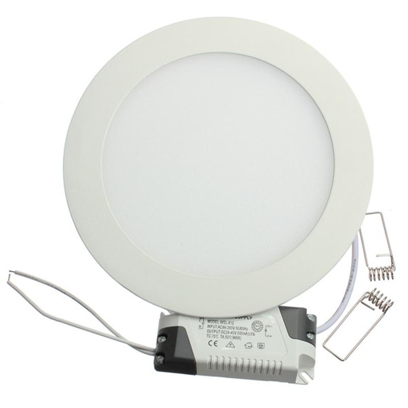 Free shipping 3w/5W/6W/9W/12W/15W/25W led panel lighting ceiling light DownlightAC85-265V , ,Warm /Cool white,indoor lighting