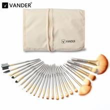 Vanderlife Pro 24Pcs Makeup Brushes Set Beauty Cosmetic Tools Premium Blending Powder Foundation make up Brush pincel maquiagem