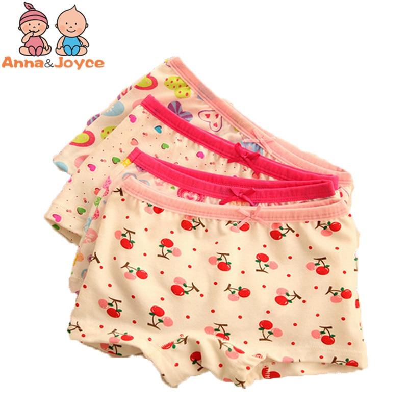 3 pçs/lote moda nova alta qualidade bebê meninas roupa interior 100% algodão calcinha para meninas crianças boxer cueca tnn0084