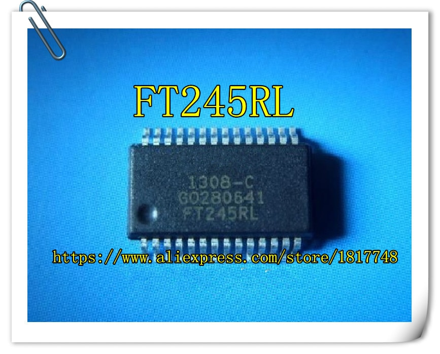 Envío gratis 10 piezas FT245RL FT245 SSOP-28 FT245RL