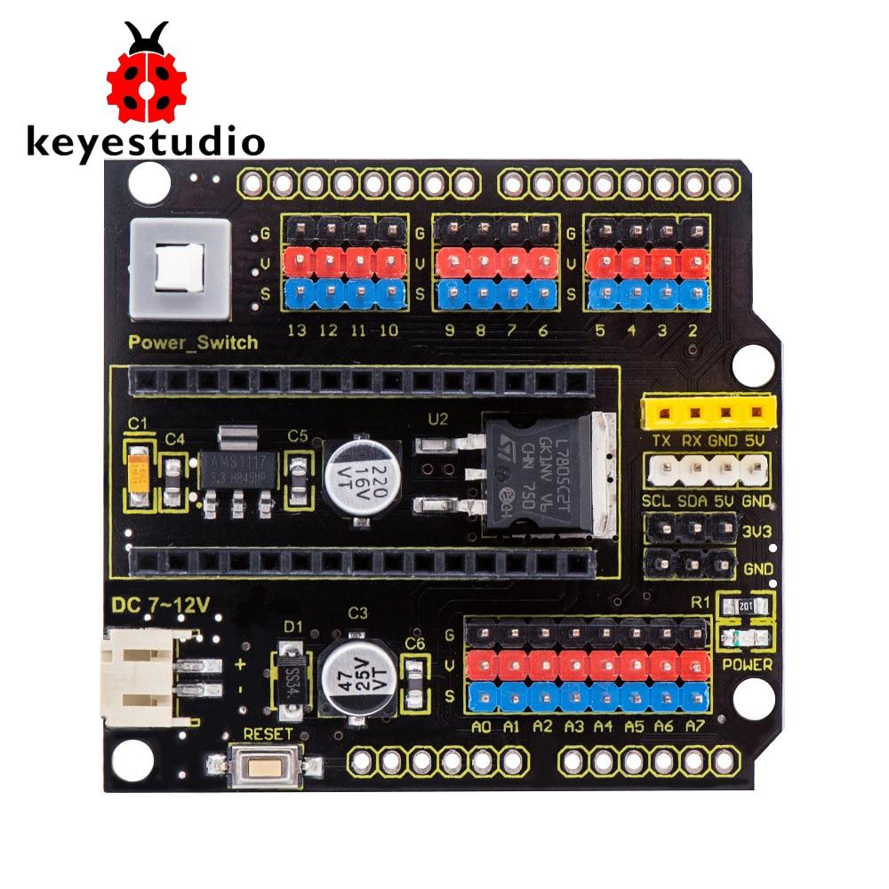 Keyestudio нано-щит доска W/Мощность перекл�