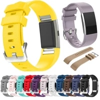 replacement silicone watch strap bracelet for fitbit charge 2 sports smart watch black white band watchstrap belt for fitbit 2