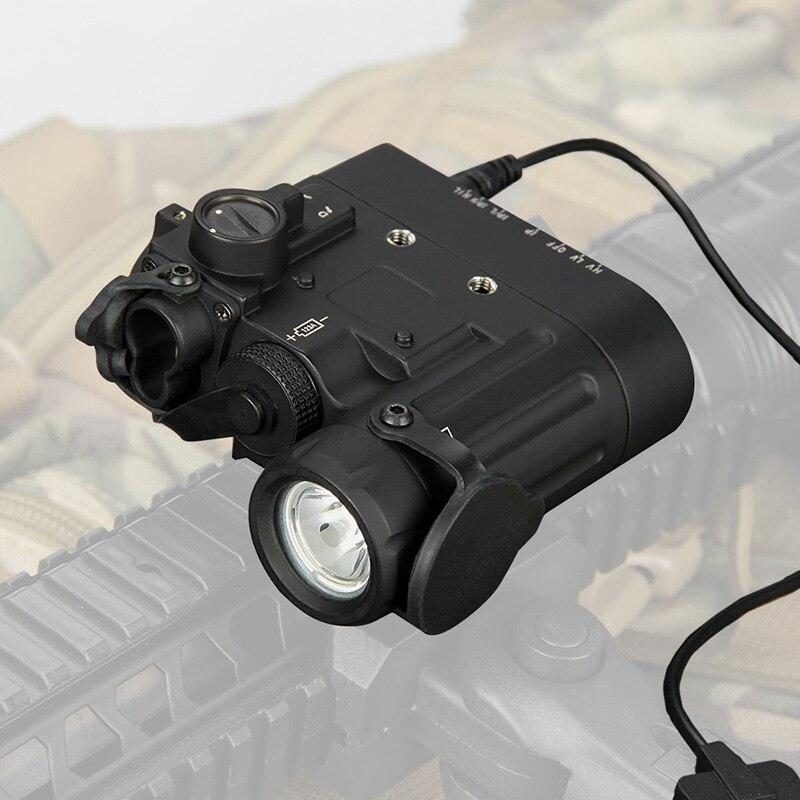 WIPSON Airsoft IR Lanterna Led Laser Tocha DBAL-EMKII W/Multifunction Tactical Iluminador IR DBAL-D2 Bateria Caso