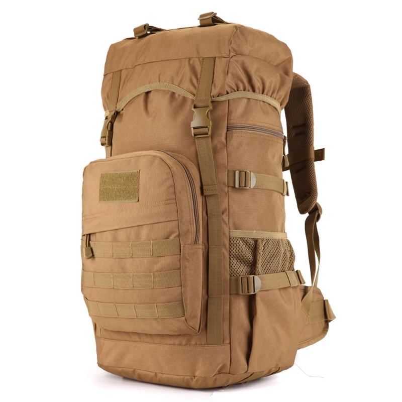 "60 litres bags bag multi-purpose travel backpack large 3D Military 17""Laptop nylon Leisure Bag high grade wearproof Dual-use bag"