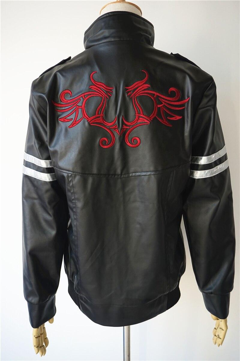 Prototipo de alta calidad, disfraz de Cosplay de Alex Mercer, chaqueta bordada, abrigo de cuero PU, Disfraces de Halloween para mujeres/hombres, personalizado