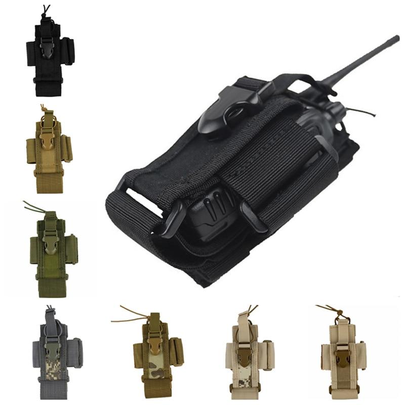 Тактическая поясная сумка CQC Molle для страйкбола, сумка для магнитолы, держатель чехол для телефона, военная, для стрельбы, охоты, рация
