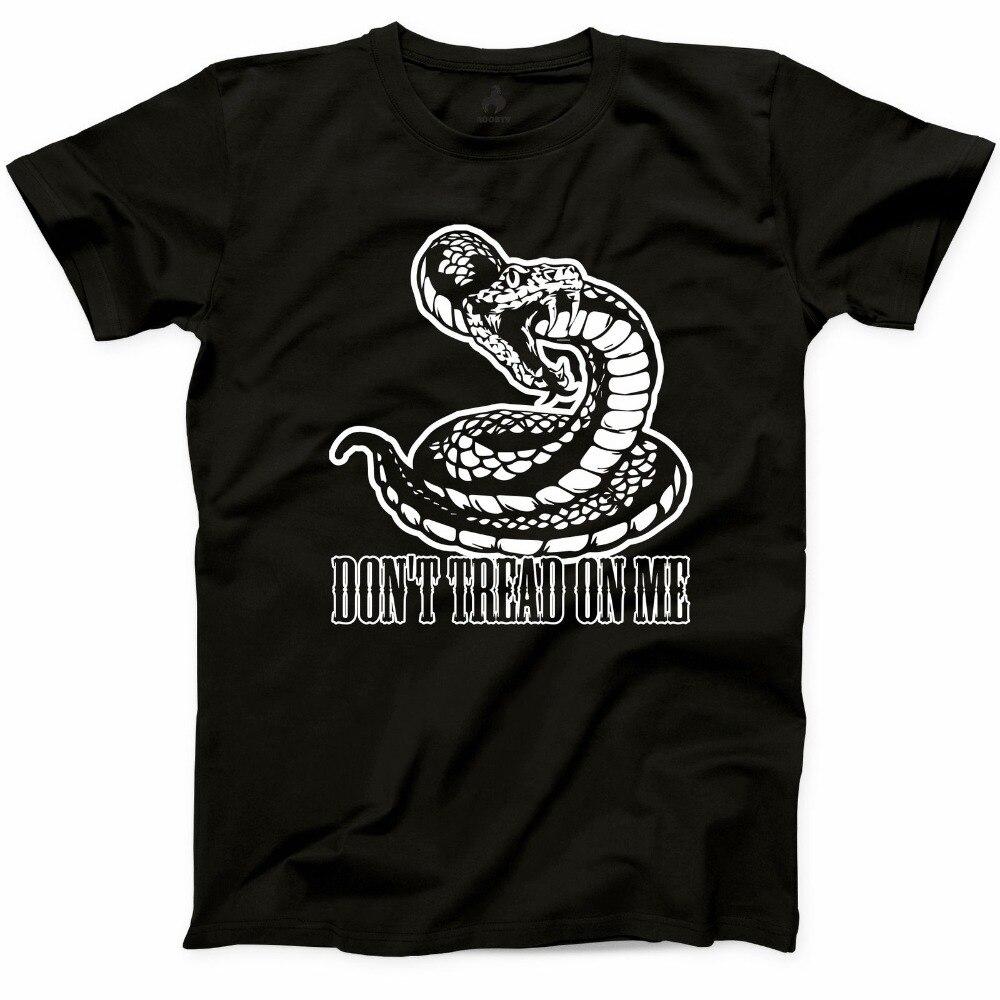 2019 nuevo verano hombres no písame camiseta 2ª Enmienda Derechos pistola s y libertad Unisex Tee Casual camiseta