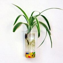 Wall Hanging Glass Flower Planter Vase Plant Pot Terrarium Home Garden Decor Dropship