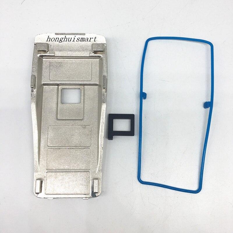Honghuisamrt la placa trasera de aluminio para motorola gp3188 ep450 gp3688 etc walkie talkie para reparación de repuesto