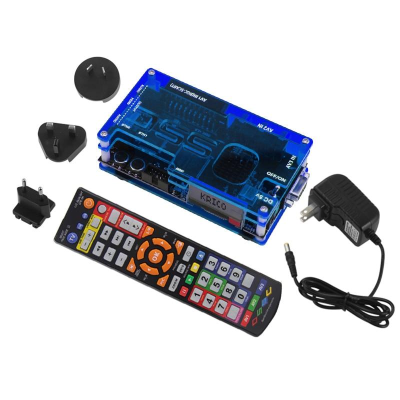 Ossc Hdmi Kit Conversor Para Retro Game Console Playstation 1 2/Xbox One 360/Atari Series/Dreamcast /Sega Série E Assim Por Diante (UE Pl
