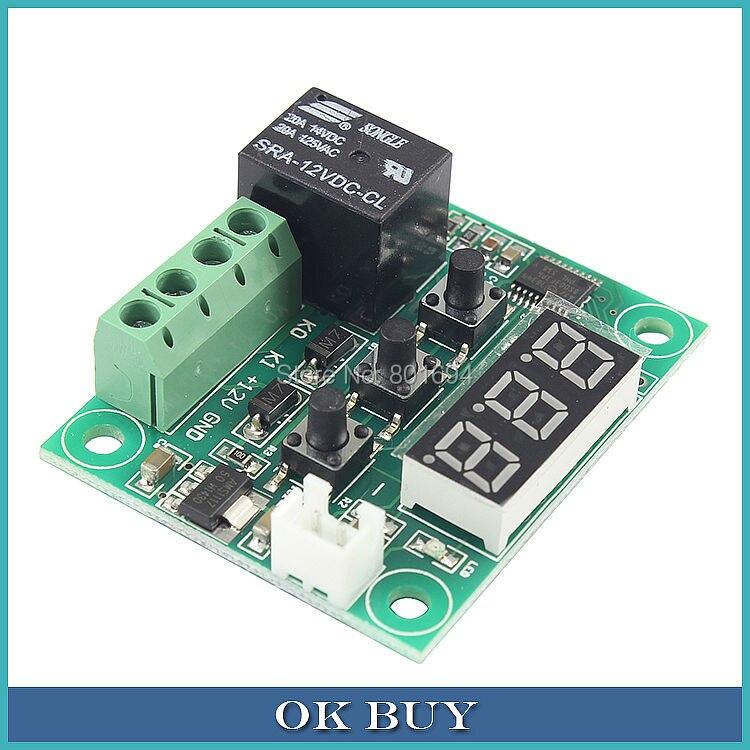 XH-W1209 Digital Thermostat Precision/ Temperature control Accessories/Temperature Switches/Miniature Thermal Control Plate