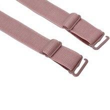 New 1 Pair 34cm slip resistant bra straps women double elastic shoulder bra strap accessories