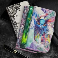 for huawei p smart 2021 fusion plus leather case for huawei p40 lite 5g stand magnetic wallet flip cover p30 p20 coque funda