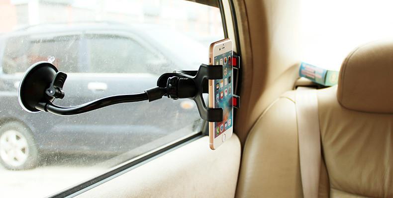 Uniwersalny uchwyt samochodowy uchwyt na telefon komórkowy dla iphone 6 6 s plus se obsługi stoiska dla samsung elastyczny uchwyt telefonu dla sony 8