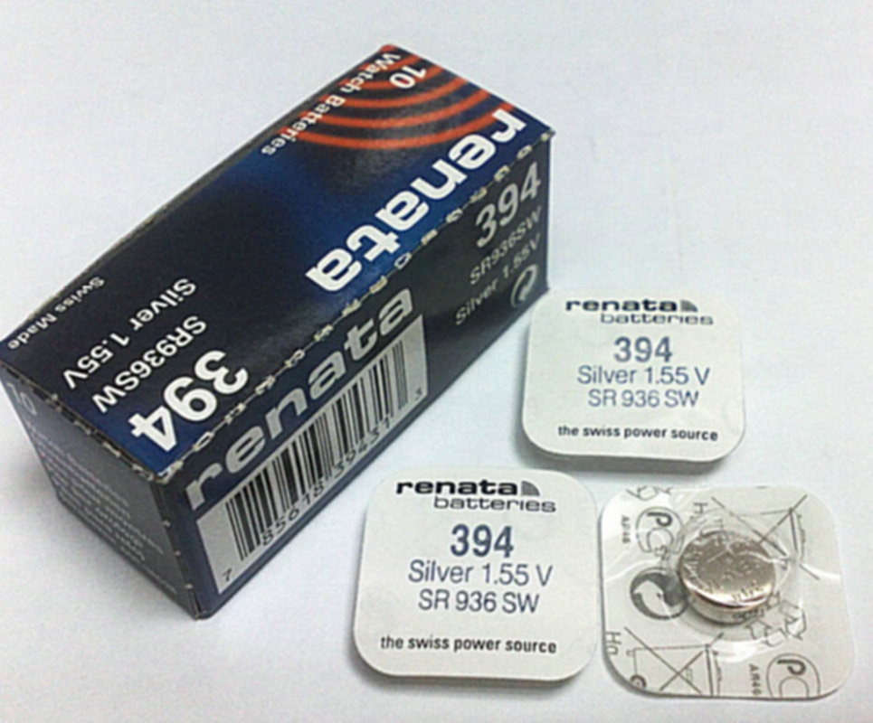 2Pcs/lot Renata 394 SR936SW AG9 Button batteries Watch & Clock repair tool Wholesale Cheap Repair Tools