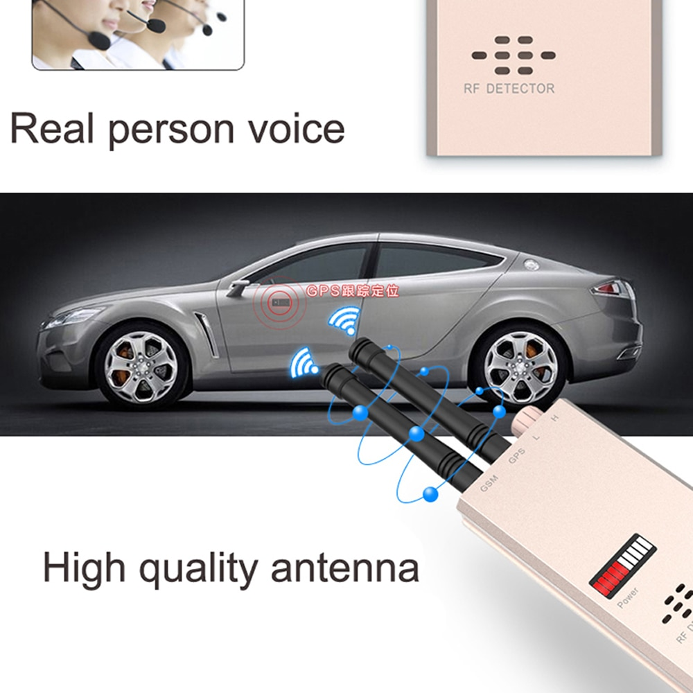 1 PCS Wireless Signal Scanner GSM Finder Device RF Detector MicroWave Detection Security Sensor Alarm Find Anti-Spy safe protect enlarge
