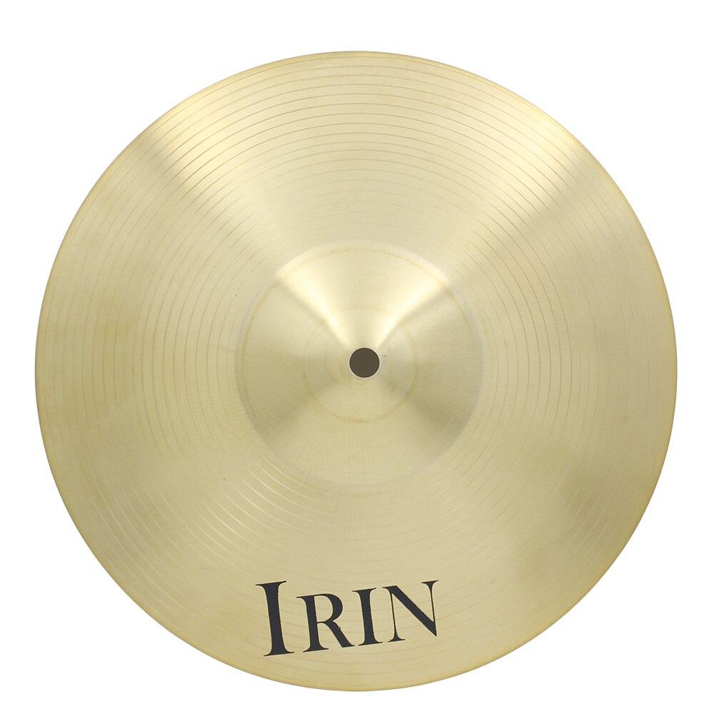 IRIN 12 Inch 14 Inch 16 Inch Professional Brass Alloy Crash Ride Hi-Hat Cymbal Drum Sets for Percussion Instruments enlarge