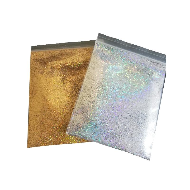 0.2mm 10g Gold Silver Diamond Holographic Glitter Rainbow Glitter,Loose Glitter,UV Gel Nail Pigment Fine Glitter CSF65743