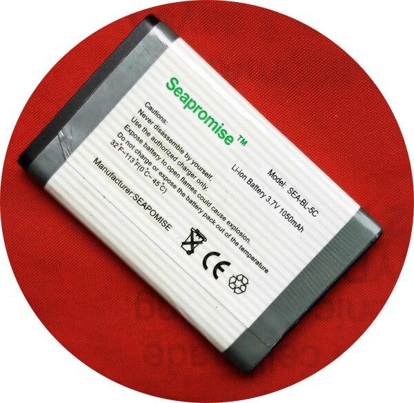 Batería al por menor BL-5C BL 5C BL5C para NOKIA 1100, 1101, 1108, 1112, 1116, 1200, 1208, 1209, 1255, 1315, 1600, 1650 1680C