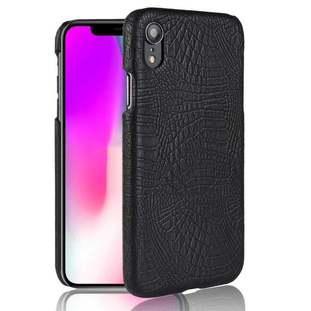 """Nueva funda SUBIN para Apple iphone XR A2108 6,1 """"funda protectora de lujo de piel de cocodrilo PU de cuero para iphone XR"""