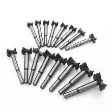 16 pièces/ensemble trépans de carottage professionnel Forstner travail du bois scie à bois coupe-bois pour outils rotatifs 15-35mm