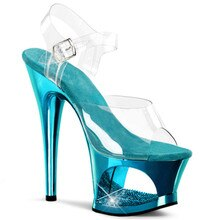 Neue galvani sohle, frauen plattform sandalen, höhlte-out wasserdichte plattform, 17 cm sexy heels sandalen