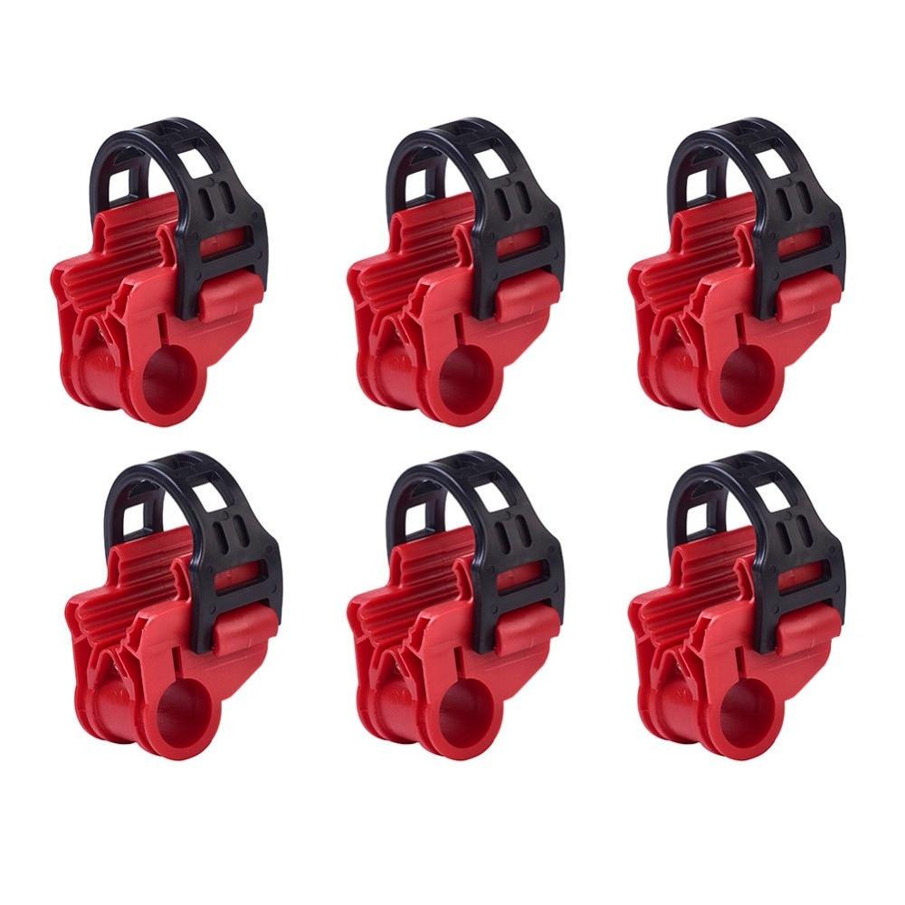"""6 uds bicicleta Rack 1-1/4 """"y 2"""" montaje tipo enganche soporte de coche accesorios"""