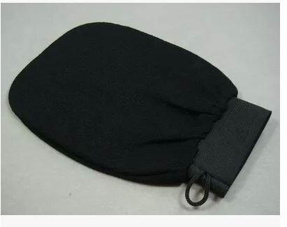 10 pcs orange kessa glove, turkish hammam scrub mitt,exfoliating scrub mitt bath glove skin towel korea glove