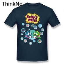Bulle Bobble t-shirt col rond mode hommes pur coton S-6XL grande taille t-shirt