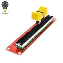 Potentiomètre à glissière WAVGAT 10 K Module linéaire double sortie pour bloc électronique Arduino AVR